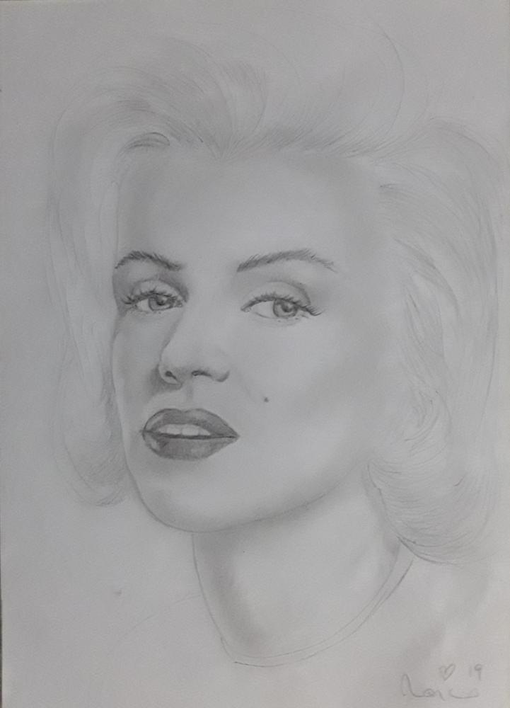 Marilyn Monroe by Papero